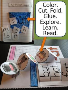 CVC Words Interactive Notebook