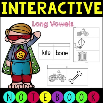 Interactive Notebook CVCe Words (long vowels)