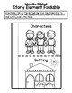 Interactive Notebook: Character & Setting **Freebie**
