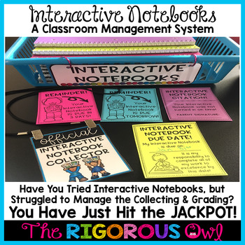 Interactive Notebook Classroom Management System