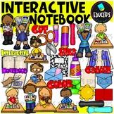 Interactive Notebook Clip Art Bundle {Educlips Clipart}
