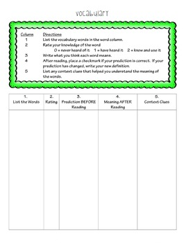 Interactive Notebook:  Close Reading Strategy for Any Genre