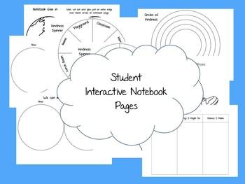 Classroom Community - Kindness - Interactive Notebook