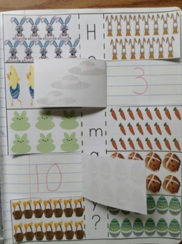 Easter Interactive 1st Grade Math Notebook
