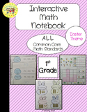 Easter Interactive 1st Grade Math Notebook