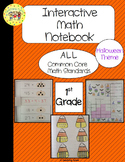 Halloween Interactive 1st Grade Math Notebook