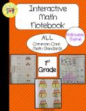 Halloween Interactive 1st Grade Math Notebook