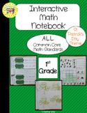 St. Patrick's Day Interactive 1st Grade Math Notebook