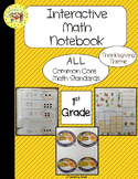 Thanksgiving Interactive 1st Grade Math Notebook