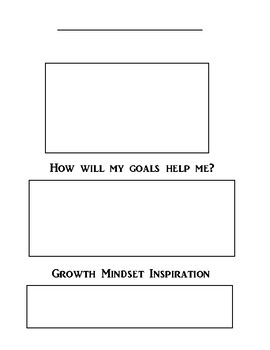 Interactive Notebook Communication Goal Page