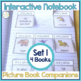 Speech Language and Literacy Interactive Notebook Book Companions BUNDLE