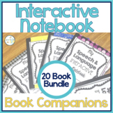 Speech Therapy Interactive Notebook Book Companions BUNDLE