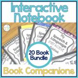 Speech Therapy   Interactive Notebook Book Companion Activities BUNDLE