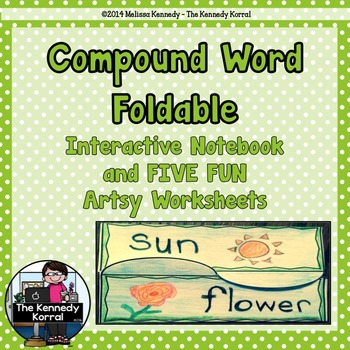 Compound Words {Interactive Notebook Foldable}