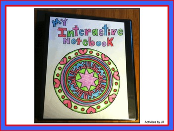 Interactive Notebook Cover 1