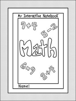 Interactive Notebook Cover 2