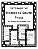 Interactive Notebook Cover Pages