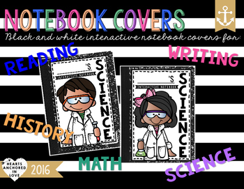 Interactive Notebook Covers (English & Spanish)