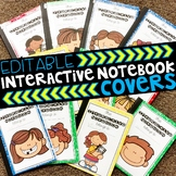 Interactive Notebook Covers EDITABLE