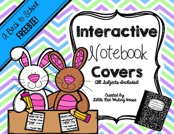 Interactive Notebook Covers {FREEBIE}