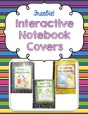 Interactive Notebook Covers ~ FREEBIE! ~ ELA, Reading, English, Spelling