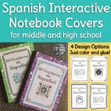 Spanish Interactive Notebook Covers