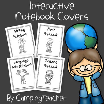 Interactive Notebook Covers for the Beginning of the Year