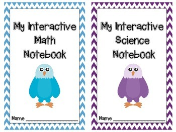 Interactive Notebook Covers with Tables of Contents Eagles
