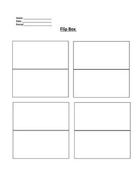 Interactive Notebook Creation Starter Packet