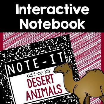 Interactive Notebook- Desert Animals