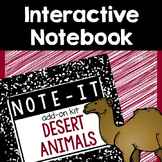 Interactive Notebook- Desert Animals
