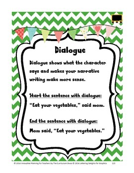 Dialogue Lesson Grades 2-5