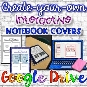 Interactive Notebook Digital Cover {Google Drive}