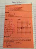 Interactive Notebook Direct Variation Sort