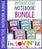 Interactive Notebook ELA Bundle of 5