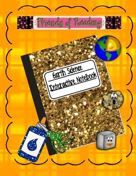 Interactive Notebook -Earth Science w/After Reading Activities