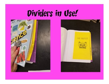 Interactive Notebook Earth and Space Science Unit Dividers