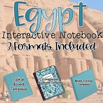 Interactive Notebook-Egypt