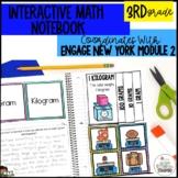 Interactive Math Notebook Grade 3 Module 2 Engage New York