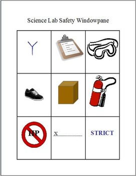 Interactive Notebook Entries for Lab Safety