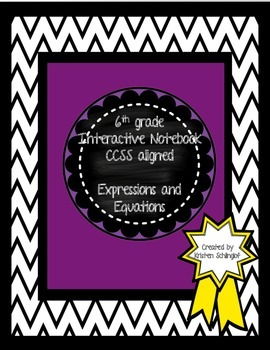 Interactive Notebook Expressions and Equations