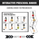 Preschool Interactive Notebook: Interactive Activities | Interactive notebook