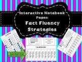 Interactive Notebook: Fact Fluency Strategies