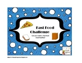 Interactive Notebook Fast Food Challenge - Nutrition / Health / Math