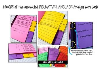 Interactive Notebook: Figurative Language Analysis Mini Book