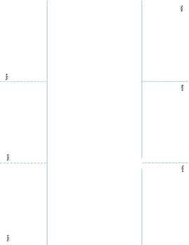Interactive Notebook Figurative Language Foldable Activity