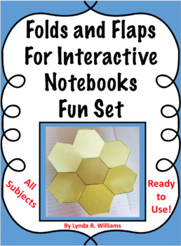 Interactive Notebook Flaps and Folds Fun Set