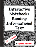 Interactive Notebook Flaps and Folds for Reading Informati