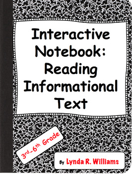 Interactive Notebook Folds for Reading Informational Text