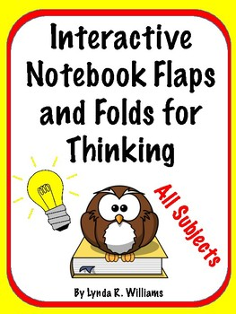 Interactive Notebook Flaps and Folds for Thinking